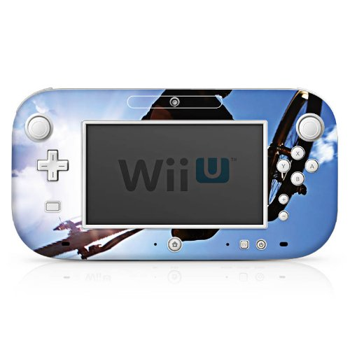 DeinDesign Skin kompatibel mit Nintendo Wii U Gamepad Folie Sticker Fahrrad Mountainbike Himmel