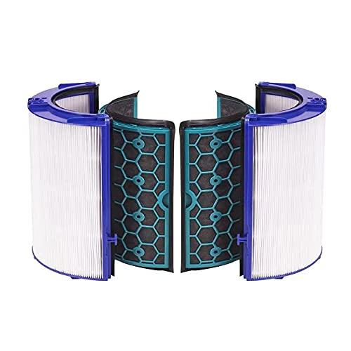 Supremery Filtro di ricambio compatibile con Dyson HP04 TP04 DP04 Pure Cool purificatore d'aria e ventola
