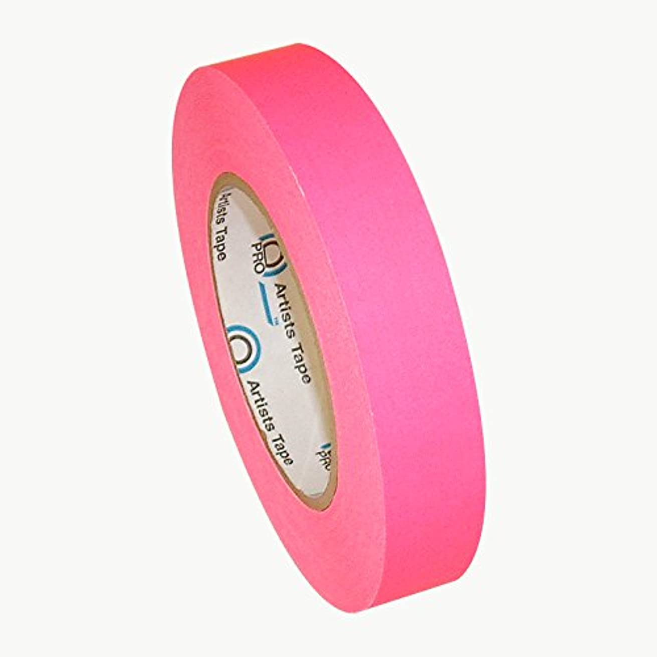 Pro Tapes Artist Tape 1 Inch Fluorescent Pink