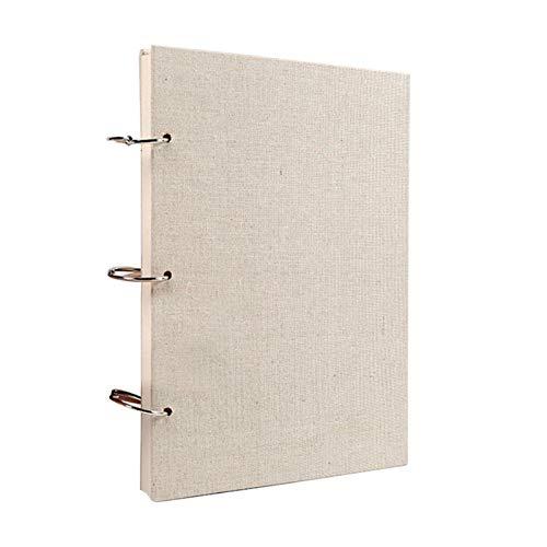 ALEOHALTER Cuaderno de bocetos con encuadernación en espiral, 60 hojas/120 páginas, cuaderno de bocetos, papel de dibujo, encuadernado en espiral, A4, A5 (16 K)