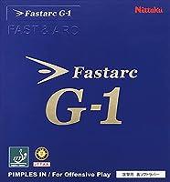 ニッタク(Nittaku) 卓球 ラバー ファスタークG-1 裏ソフト テンション ブラック 特厚 NR8702