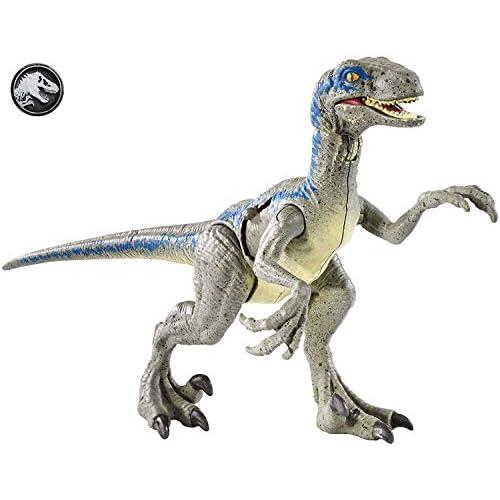 Jurassic World Velociraptor Blue Ferite da Combattimento, Dinosauro del Film, FNB33
