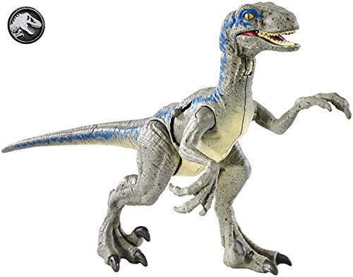 JURASSIC WORLD BATTLE DAMAGE Velociraptor Blue