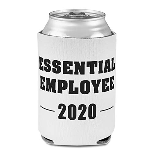 Sleeves for Cans Drink Cooler Essential Employee Quarantine Social Distancing Party Beer Cover Laugh