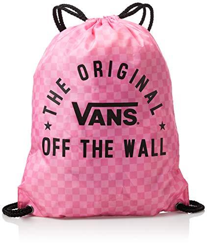Vans Ss20 BENCHED BAG, OS, color Tabla de cuadros rosa fucsia, tamaño Talla única