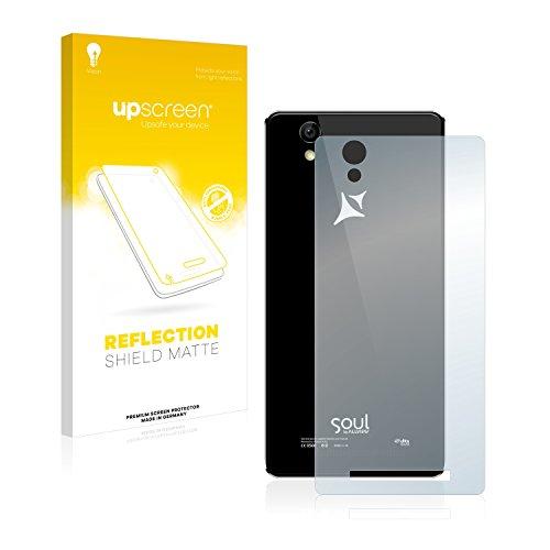 upscreen Entspiegelungs-Schutzfolie kompatibel mit Allview X2 Soul Lite (Rückseite) – Anti-Reflex Bildschirmschutz-Folie Matt
