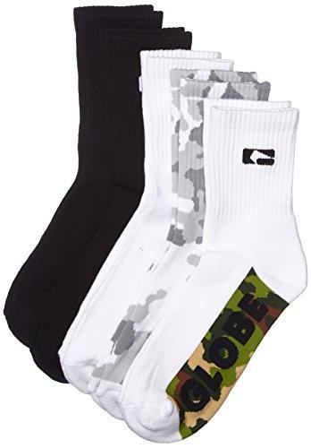 Globe Herren Malcom Crew Socks, Camo, 7-11