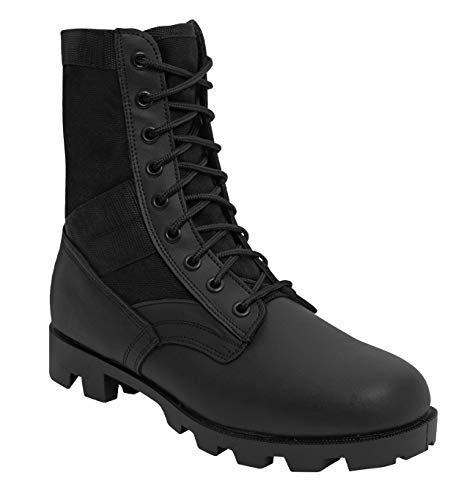 Rothco Military Jungle Boots, 10, Black