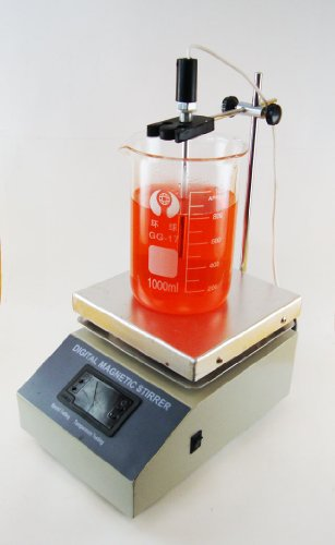 Buy Cheap Magnetic Stirrer / Hot Plate with Temperature Probe and Digital Readout *** Heats to 100 C...