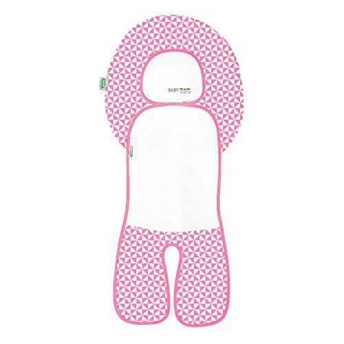 Odenwälder BabyNest Babycool-Auflage Sommerauflage Coolmax für Autositz Gr.1, Hochstuhl, Made in Germany