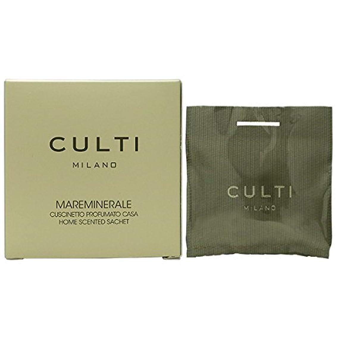 インドグロー素敵な【CULTI】クルティ ホームセンテッド サシェ MAREMINERALE 7×7cm [並行輸入品]