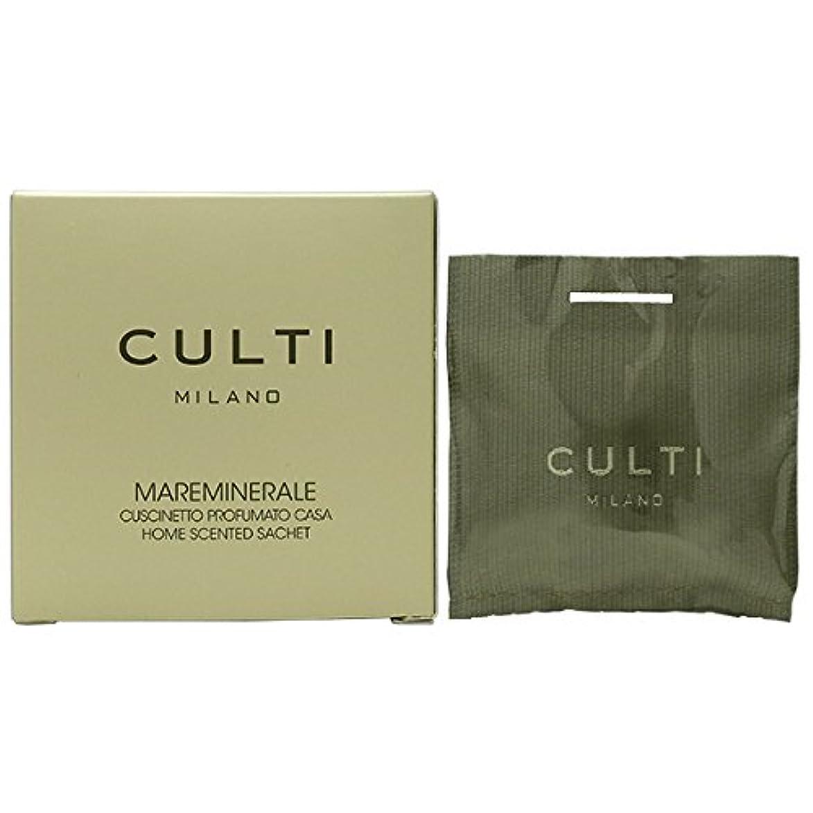 軸傾向があります倫理的【CULTI】クルティ ホームセンテッド サシェ MAREMINERALE 7×7cm [並行輸入品]