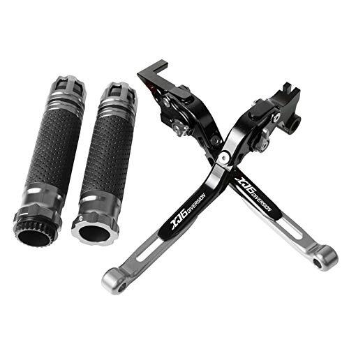 バイク用CNCクラッチレバー ヤマハWR125XWR 125 X 2012 2013 2014 20152016オートバイに適しています クラッチブレーキレバーを伸ばして調整可能なハ