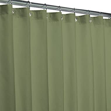 Popular Bath Fabric Shower Curtain Liner, Sage