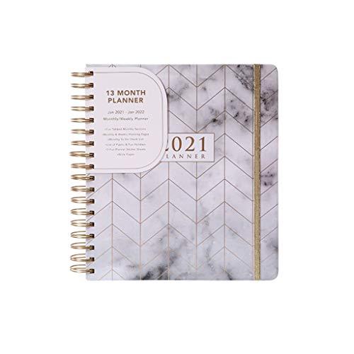 Blocs y Cuadernos de Notas 2021 planificador - planificador semanal y mensual, 2021 Planeador Cuaderno Blocs y Cuadernos de Notas
