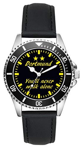 Dortmund Geschenk Artikel Idee Fan Uhr L-6040