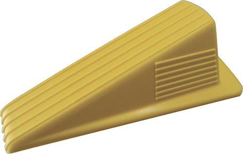 Shepherd Hardware Available 3763 Heavy Duty Jumbo Rubber Door Wedge, Yellow, 3-1/2 Inch