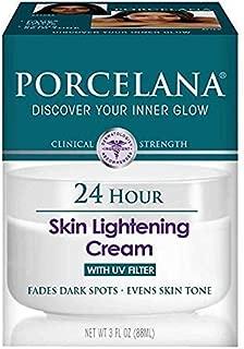 Porcelana 24 Hour Skin Lightening Cream, 3 Ounce (Pack of 1)