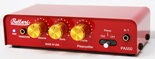 Phono Preamp, Red (VP29)