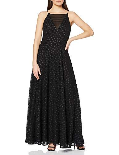 ESPRIT Collection Damen 118EO1E015 Kleid, 001/BLACK, 36