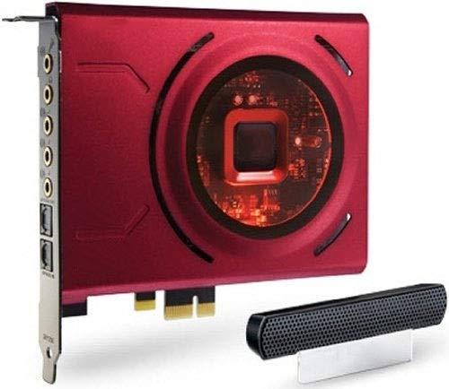 HWZDQLK Tarjeta de Sonido for Juegos con Amplificador de Auriculares de Alto Rendimiento y micrófono de formación de Haz