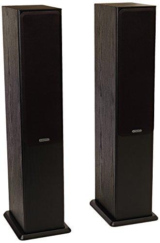 Monitor Audio Bronze 5 Standlautsprecher, Farbe: Black Oak, 1 Paar