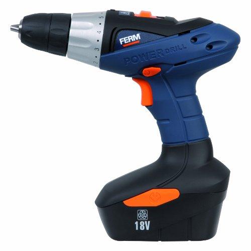 FERM CDM1090 18 V Cordless Drill -