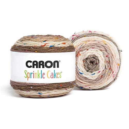 Caron Tea Cakes Hilo de mezcla de lana acrílica ~ 8.5 oz cada uno (gris)