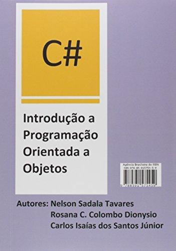 C# Introdução a Programação Orientada a Objetos
