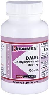 Kirkman DMAE (Dimethylaminoethanol) 250 mg - Hypoallergenic   90 Vegetarian Capsules
