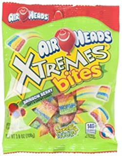 Set of 3 Deliciously Fruity EXTREME Airheads Bites 3.8oz Bags! All the Chewy Deliciousness of Airheads in Bites!