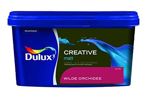 Dulux Creative Wand- und Deckenfarbe, Wilde Orchidee Matt