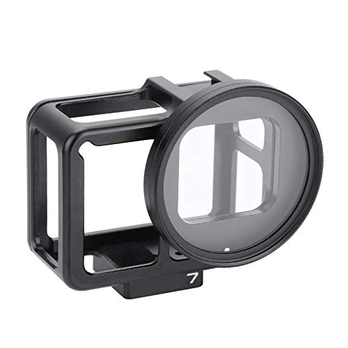 Mugast Estuche de cámara de aleación de Aluminio, Tapa Protectora, Jaula V, Filtro, Tapa de Lente,…