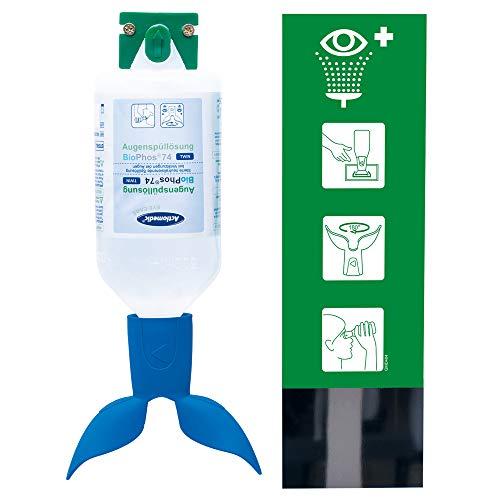 Actiomedic EYE Care - Estación de lavado de ojos Twin