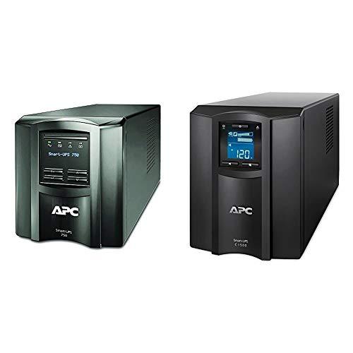APC 750VA Smart UPS with SmartConnect, SMT750C Sinewave UPS Battery...