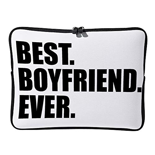 Best Boyfriend Ever 15inch Neoprene Laptop Sleeve Case Protective Computer Cover Portable Carrying Bag Pouch for Notebook