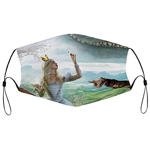 Best-design Máscara facial reutilizable de Alice, pasamontañas, lavable al aire libre, cubierta de la boca de la nariz a la moda para unisex hombres