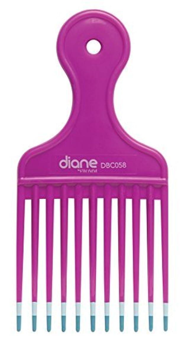合計寂しいアプライアンスDiane Fromm Mebco Medium 6 Inch Lift Comb Fuchsia Pink 1 Piece DBC058 [並行輸入品]