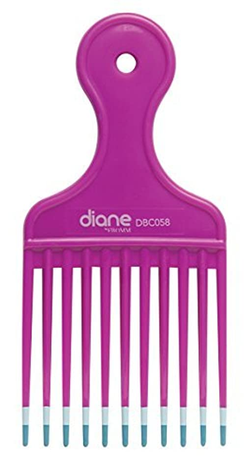 ずらす差感心するDiane Fromm Mebco Medium 6 Inch Lift Comb Fuchsia Pink 1 Piece DBC058 [並行輸入品]