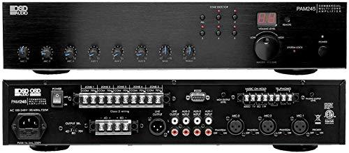 OSD Audio 240W Commercial Amplifier – 70V High Power Class D XLR Input, PAM245