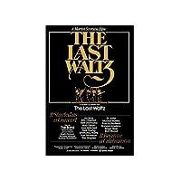 最後のワルツ映画のポスター絵画キャンバス壁アートキャンバスに印刷リビングルームの装飾のための写真家の装飾50x70cmフレームなし