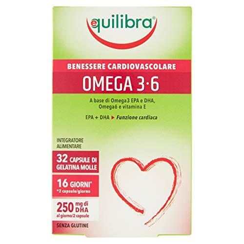 Equilibra Omega 3-6, 32 perle