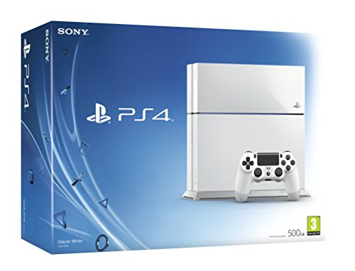 Sony PlayStation 4 Console (White) PlayStation 4 Consoles, Games & Accessories PC & Video Games