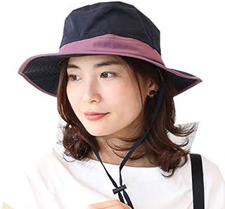 [ドリームハッツ] 帽子 撥水 サファリハット レディース メンズ 春 夏 uv 折りたたみ uvカット帽子 100% 大きいサイズ 風で飛ばない帽子 アウトドア ハット 登山
