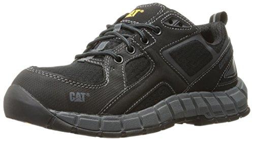 Caterpillar Men's Gain Steel Toe Work Shoe, Black, 8.5 M US
