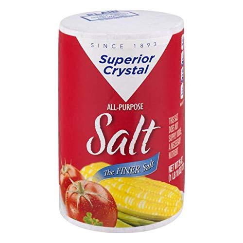 Superior Crystal Salt 26 oz (pk of 6)