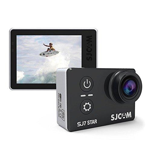 Action Camera SJCAM SJ7Star WiFi 4K touch screen con telecomando e processore Ambarella A12S7530M subacquea Mini DVR, Black