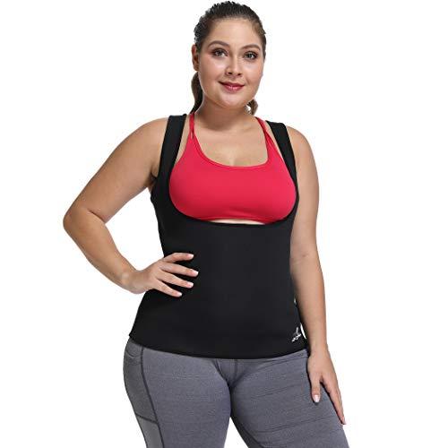 Joyshaper Waist Trainer Corset for Weight Loss Women Sauna Sweat Vest Workout Tank Top Body Shaper