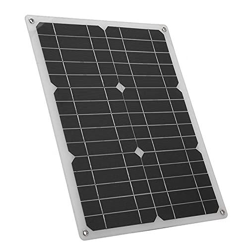 Salida USB Cable USB Cargador solar Cargador de panel solar de ahorro de energía El más rápido, para viajes, deportes, senderismo, camping