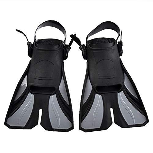 WEIJ Verstelbare vinnen Flippers - Duikuitrusting Snorkelen Zwembad Suit, Licht Korte Flippers